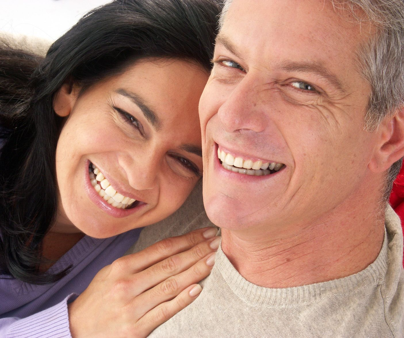 Tooth Extraction - couple smiling