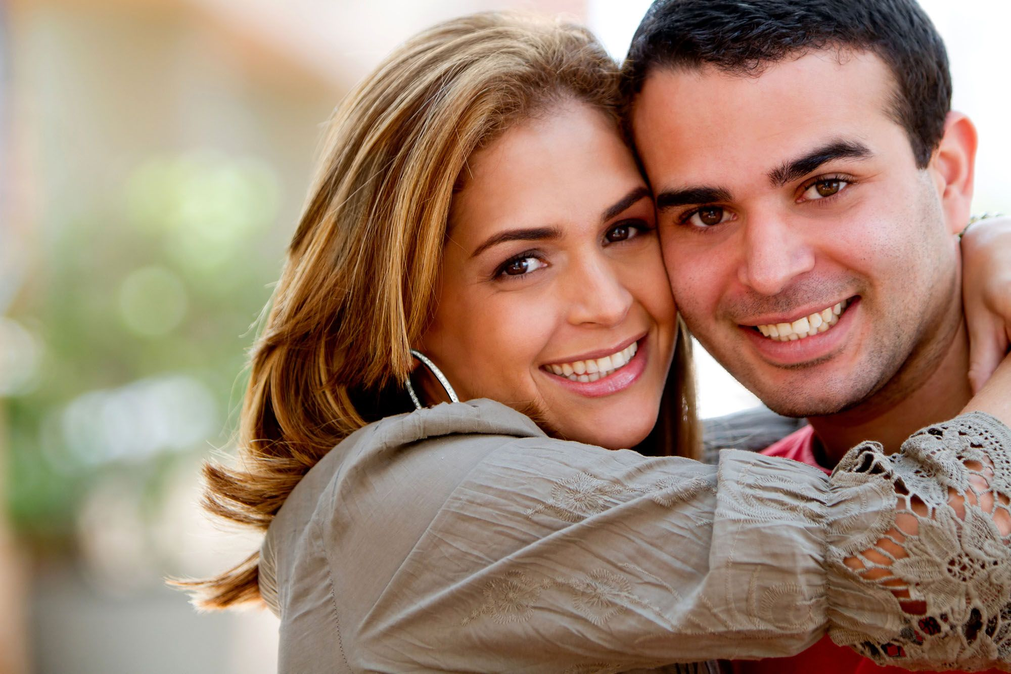 Contact Us - photo of smiling couple